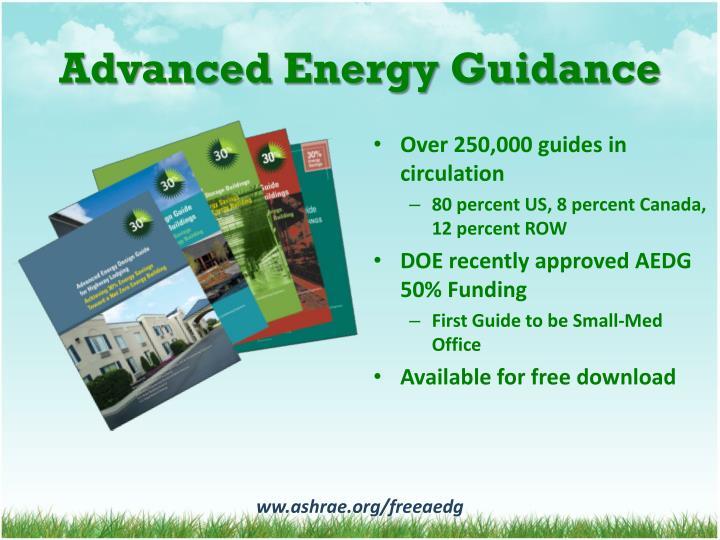 Advanced Energy Guidance