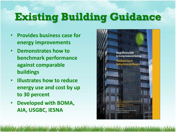Existing Building Guidance
