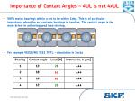 importance of contact angles 4ul is not 4xul