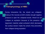 pathophysiology of hmd