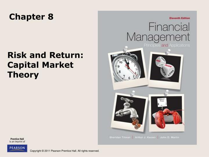 Chapter nine capital market theory.