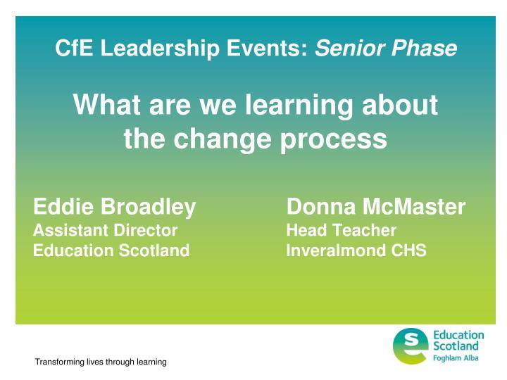 cfe leadership events senior phase n.