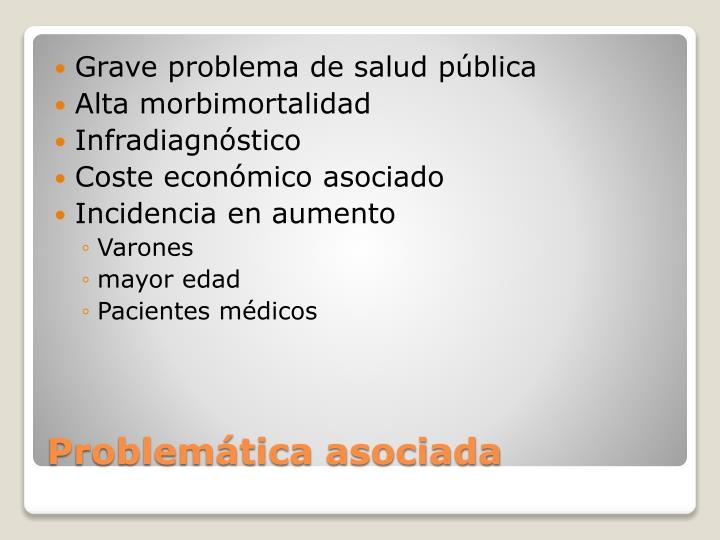 Grave problema de salud pública