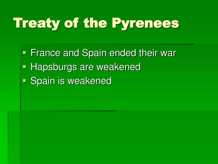 Treaty of the Pyrenees