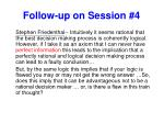 follow up on session 41