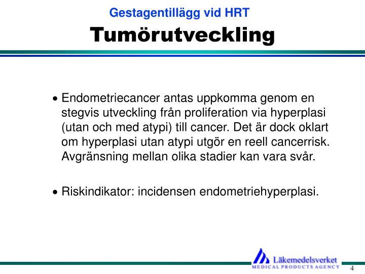 Tumörutveckling