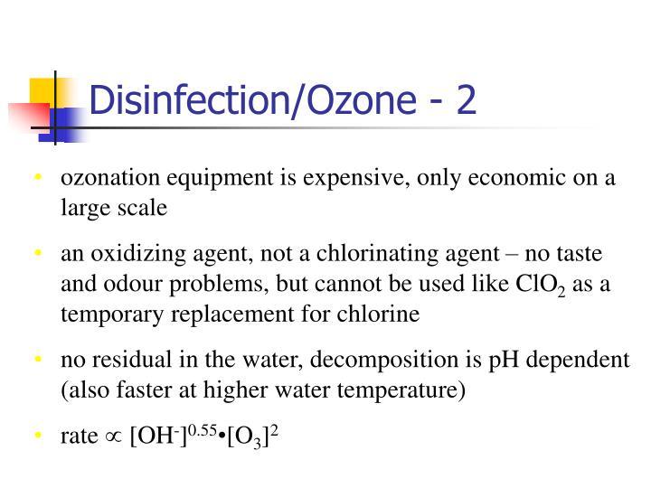 Disinfection/Ozone - 2