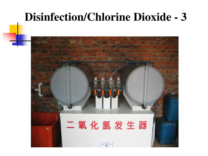 Disinfection/Chlorine Dioxide - 3