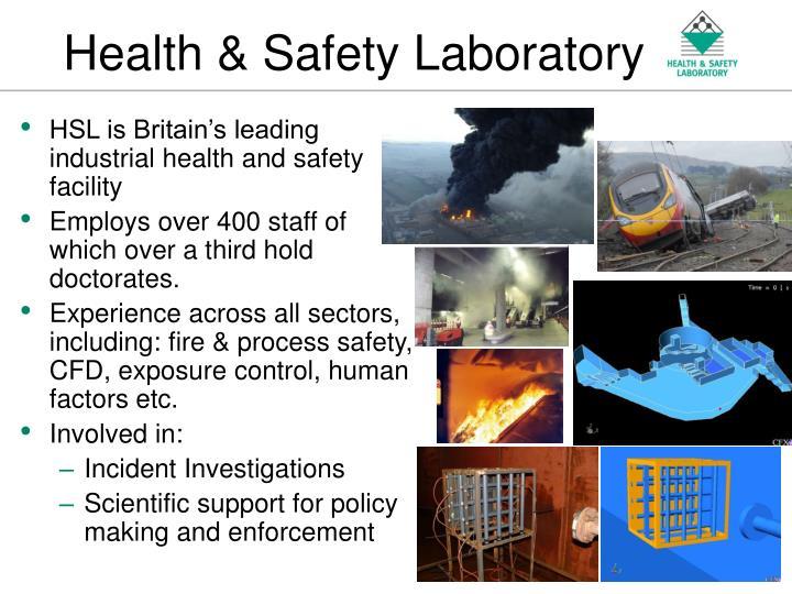 Health safety laboratory