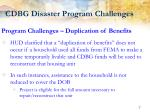cdbg disaster program challenges2