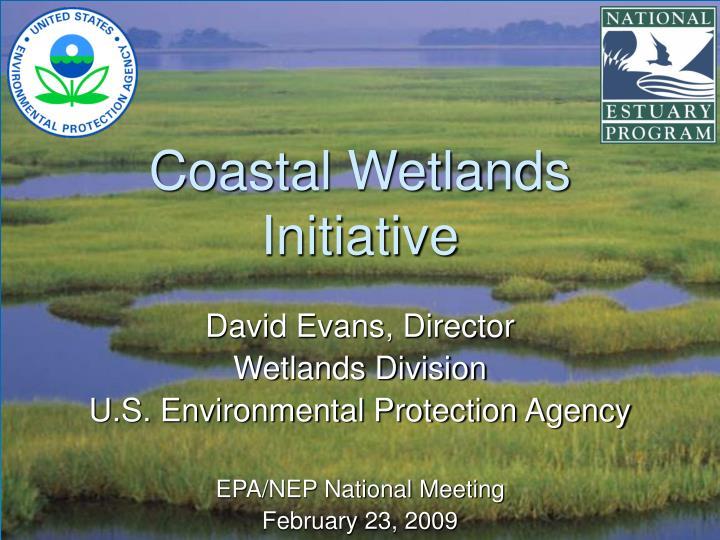 coastal wetlands initiative n.