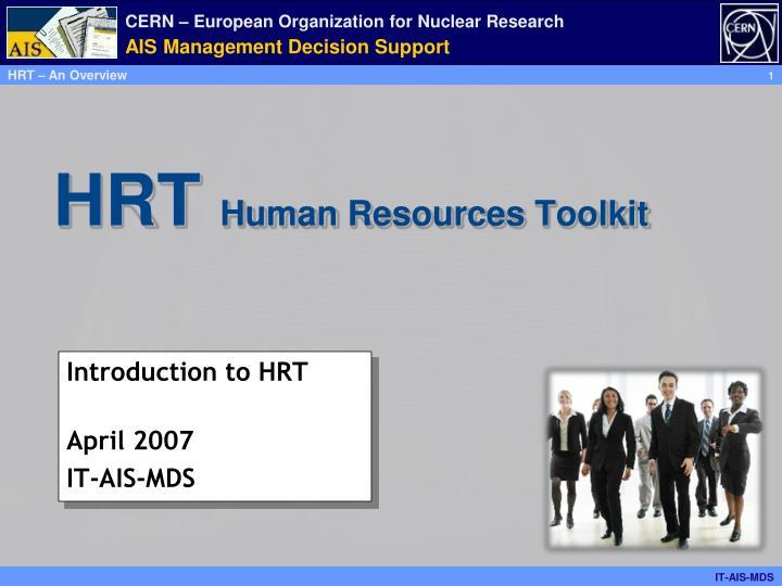 hrt human resources toolkit n.