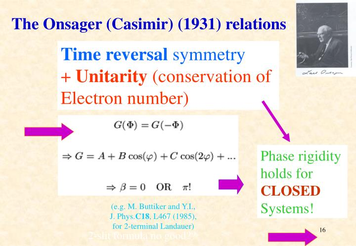 The Onsager (Casimir)