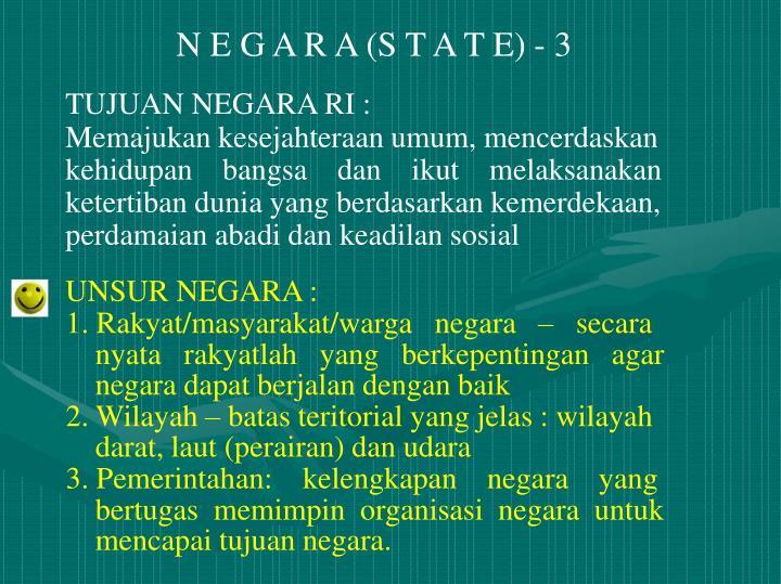 N E G A R A (S T A T E) - 3