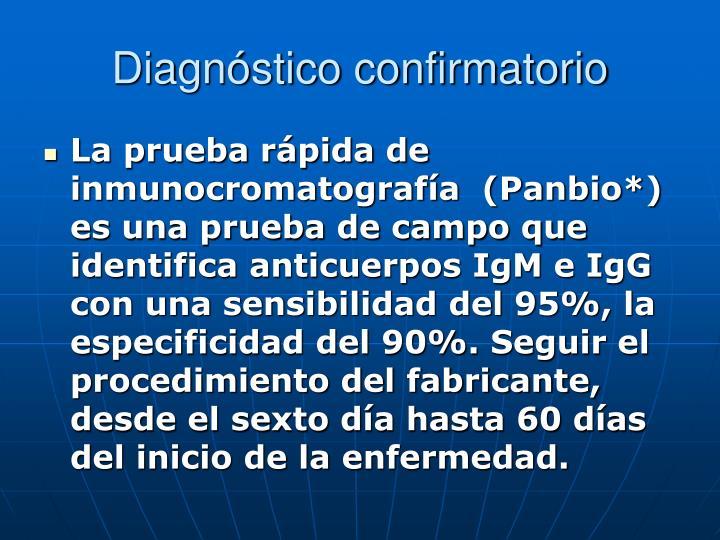 Diagnóstico confirmatorio