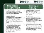 darpariaeth delivery of o hyfforddiant training2