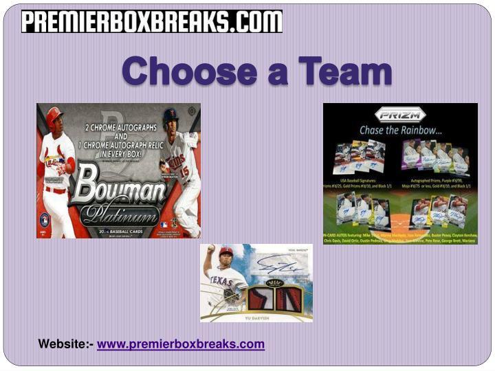 Choose a Team