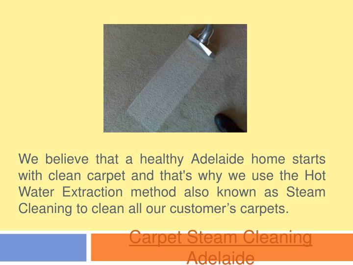 carpet steam cleaning adelaide n.