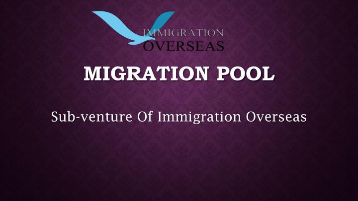 migration pool n.
