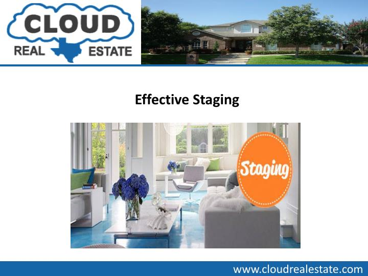 Effective Staging
