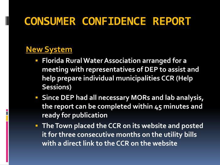 Consumer confidence report2