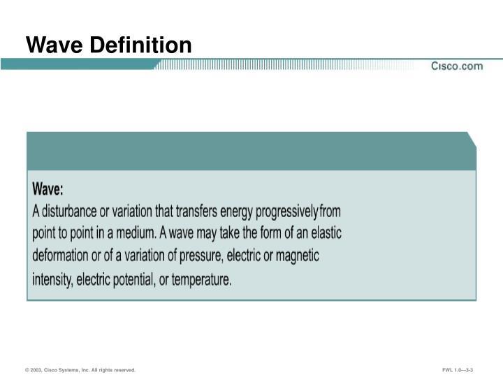 Wave definition