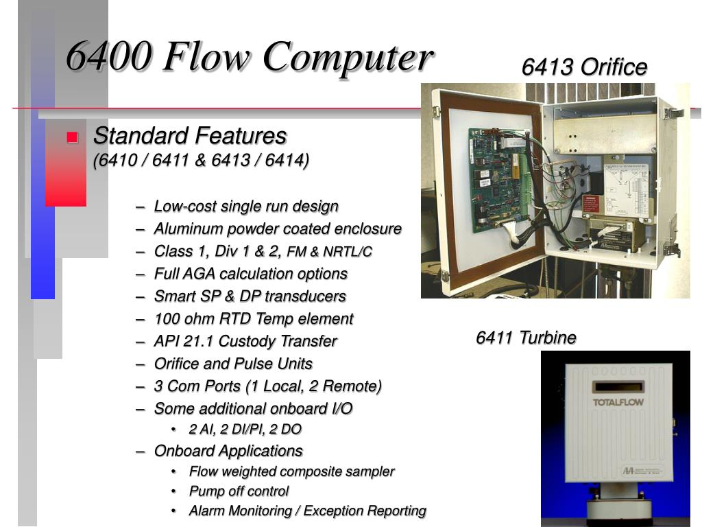 PPT - Automation Totalflow Measurement & Control Systems Product