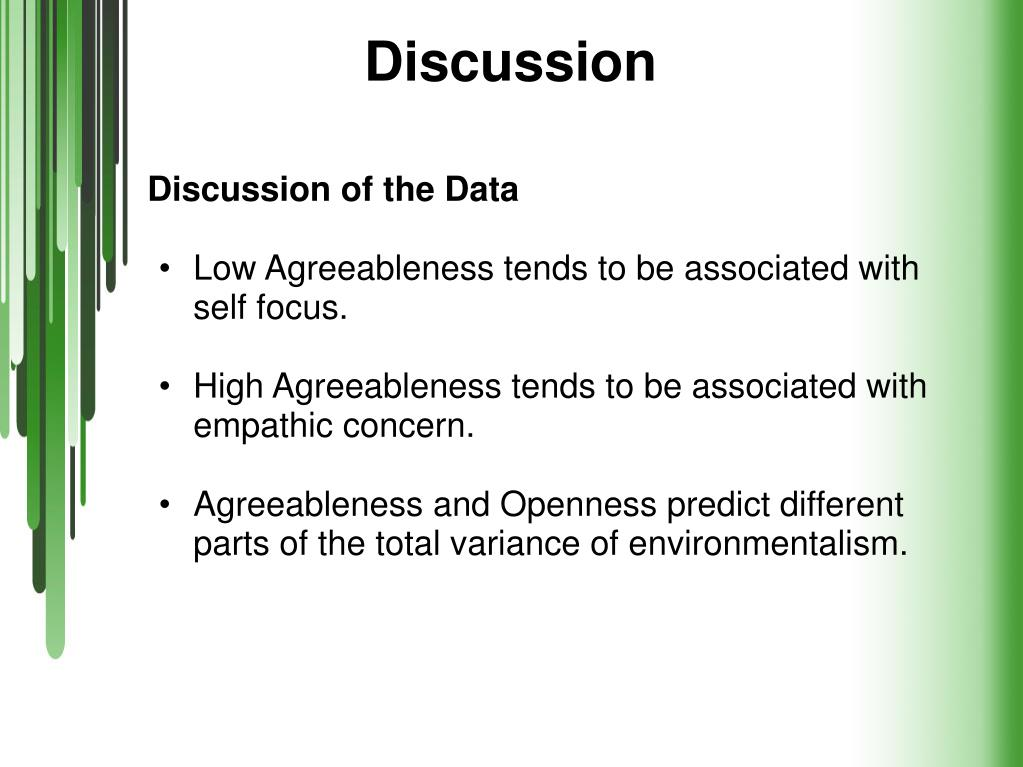 PPT - Environmentalism and Personality PowerPoint