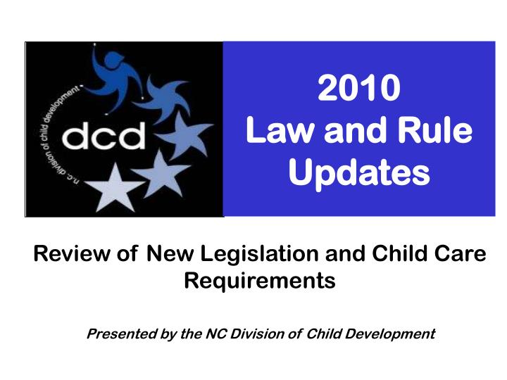 2010 law and rule updates n.