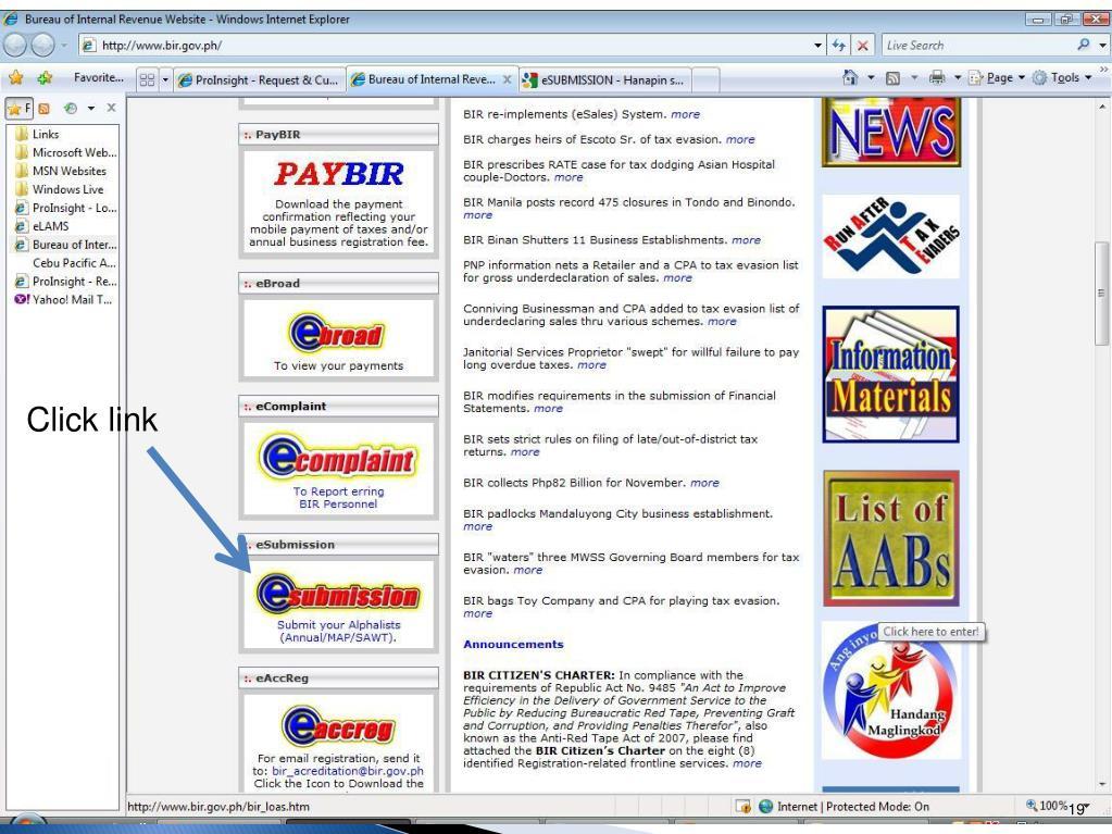 PPT - BUREAU OF INTERNAL REVENUE PowerPoint Presentation