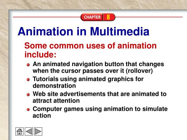Animation in Multimedia
