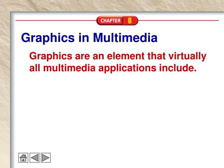 Graphics in multimedia