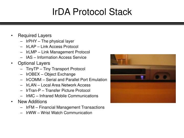 IrDA Protocol Stack
