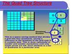 the quad tree structure