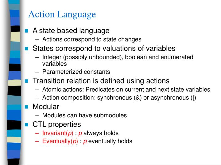 Action Language