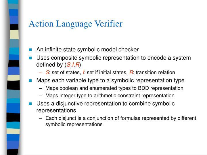 Action Language Verifier