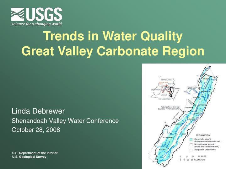 linda debrewer shenandoah valley water conference october 28 2008 n.
