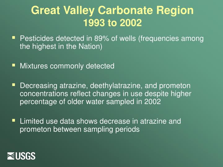 Great Valley Carbonate Region
