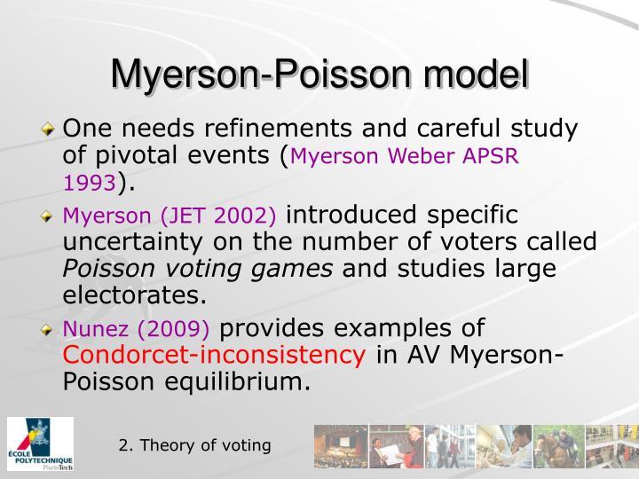 Myerson-Poisson model