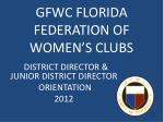 gfwc florida federation of women s clubs