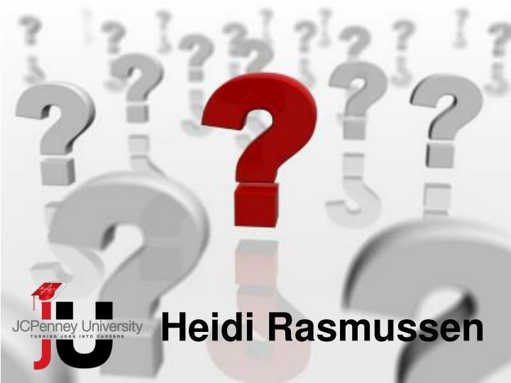 Heidi Rasmussen