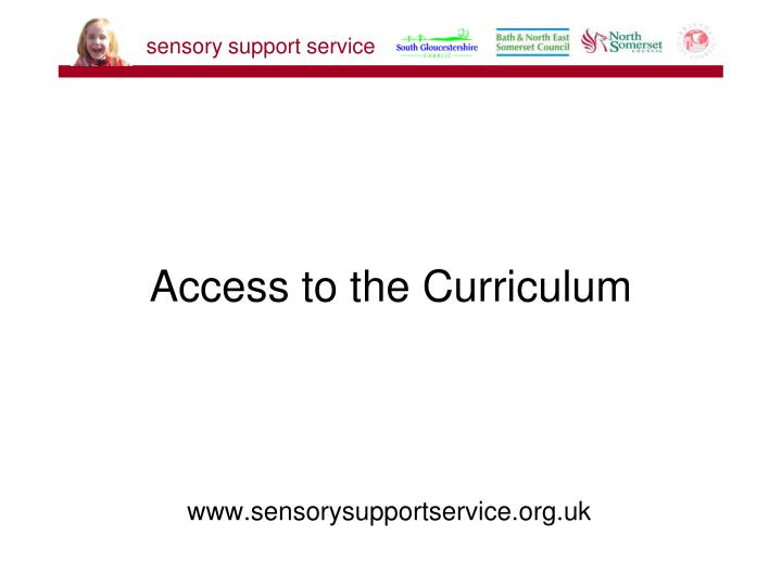 access to the curriculum n.