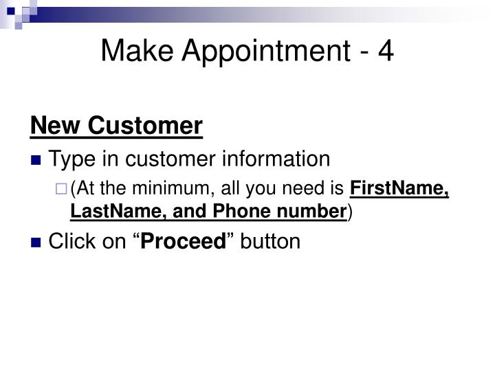Make Appointment - 4