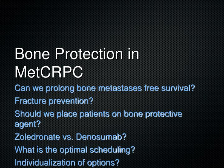 Bone Protection in MetCRPC