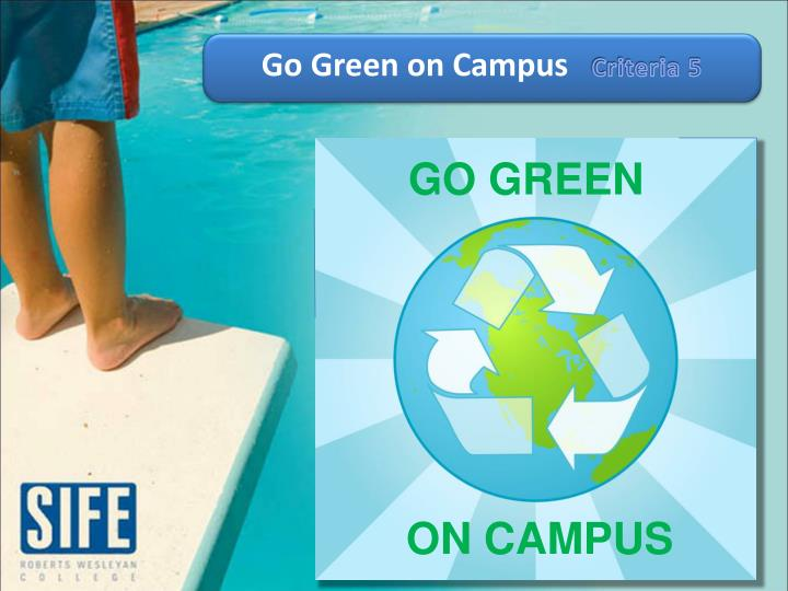 Go Green on Campus