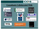 consultants c ollaborated with