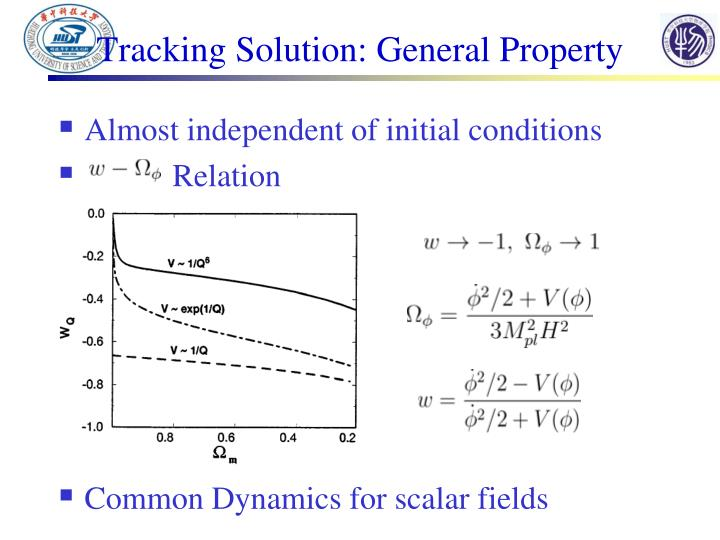 Tracking Solution: General Property