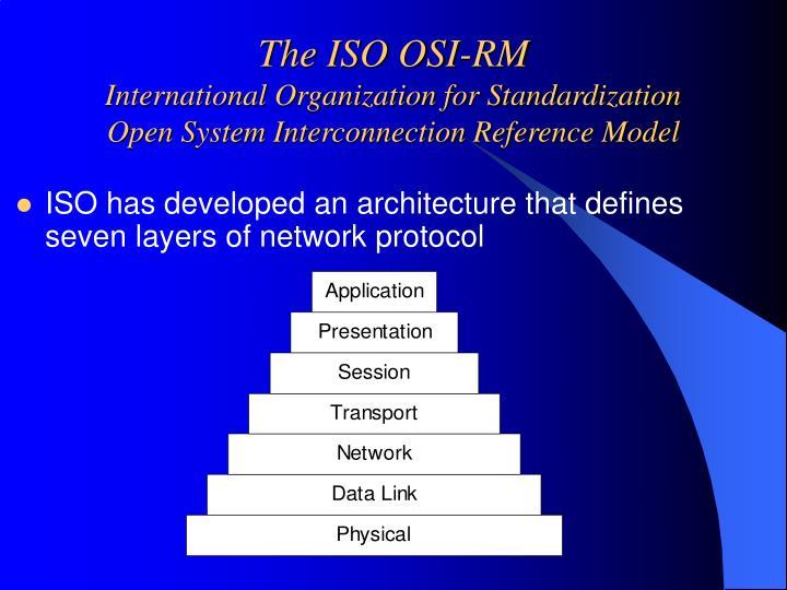 The ISO OSI-RM