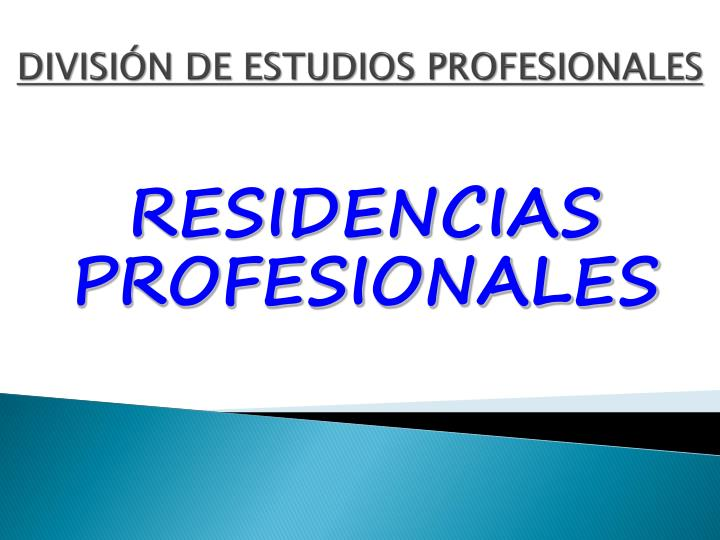Divisi n de estudios profesionales