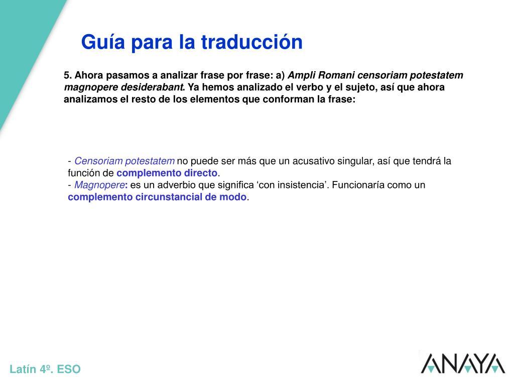 Ppt Guía Para La Traducción Powerpoint Presentation Free